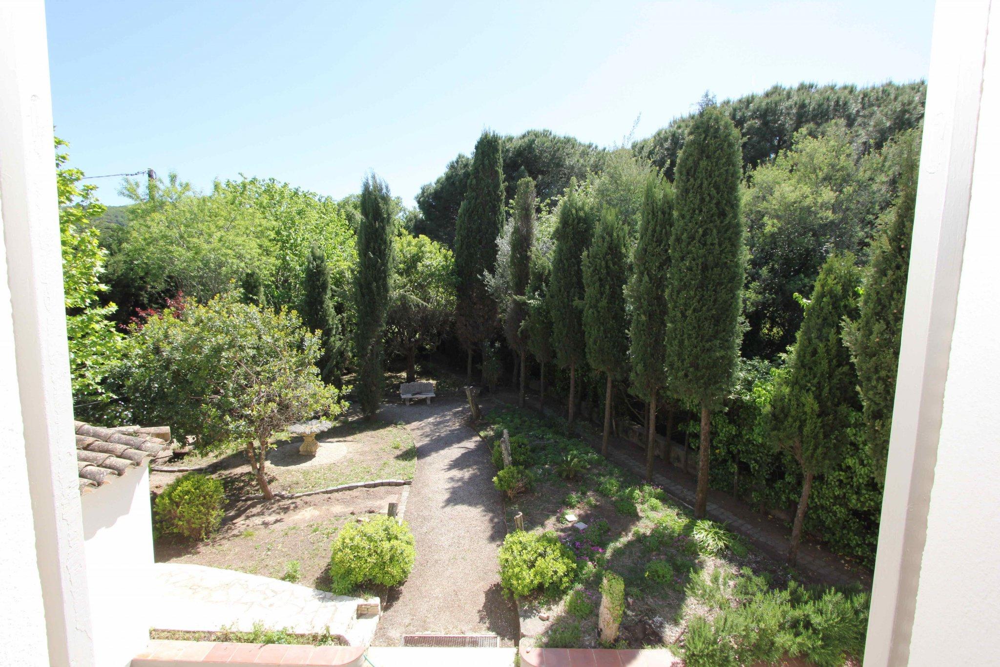 Vue jardin côté Sud